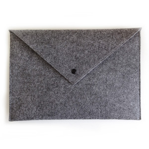 Grey Envelope Laptop Sleeve