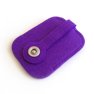 Purple Key Holder