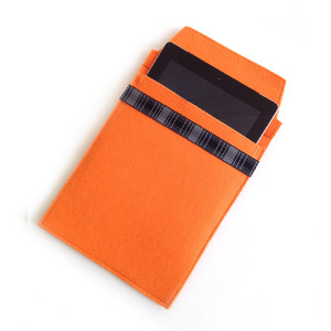 Orange Felt iPad Sleeve